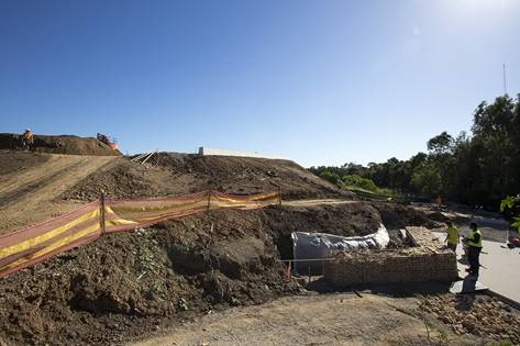 Sydney Olympic Park - Construction at the park - Photo by Paolo Busato