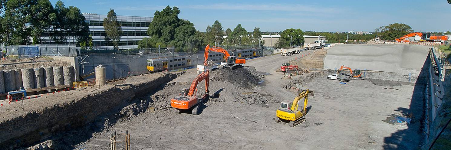 Australia Towers - Excavation for Building works -  Photo by Paul K Robbins