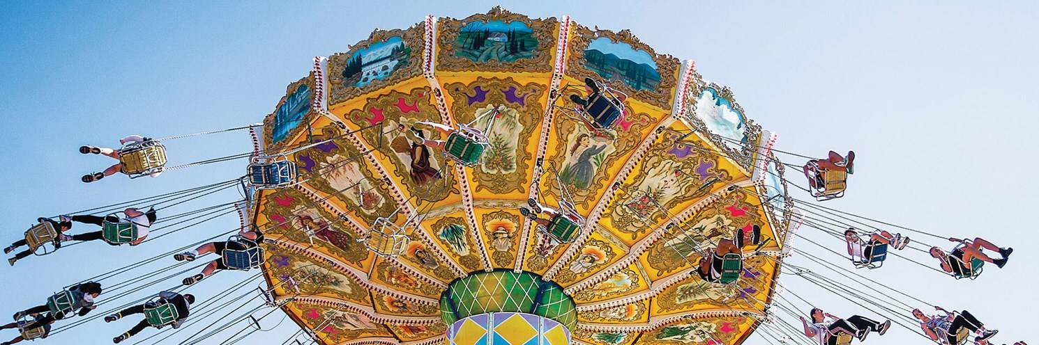 Carousel at Sydney Royal Easter Show - Photo by Royal Agricultural Society